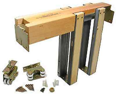 Johnson 2000 Series HD Pocket Door Hardware Sets for 2x4 Walls MADE IN USA