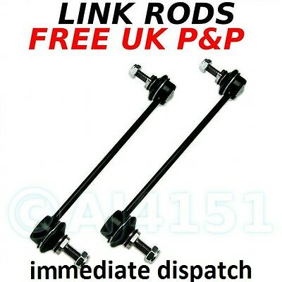 PEUGEOT 307 all FRONT Anti-roll Bar Stabiliser Drop Link Rods Sway Bar x 2