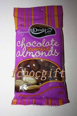Darrell Lea Milk Chocolate SCORCHED ALMONDS 110g bag