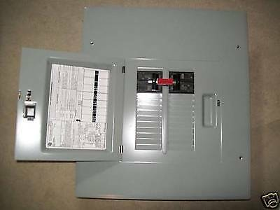 GE 60/60A GENERATOR TRANSFER SWITCH 20 circuit breaker box combination
