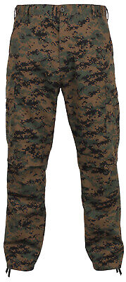 KIDS Camo Cargo Pants BDU Style Child Boys Girls Military Army USAF Navy USMC