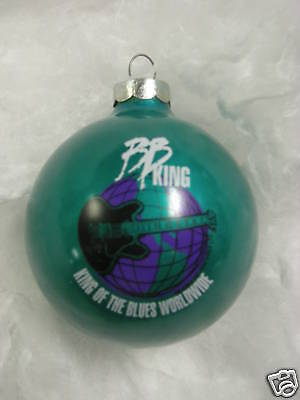 BB KING  Collectible Christmas Ornament ~NEW~  Approx. Year 1996  B.B. KING