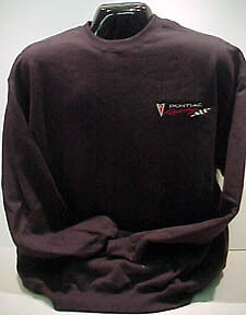 Pontiac Racing Sweatshirt Gm Licensed