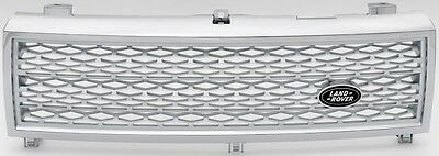 Quality Range Rover L322 Vogue (02-06) Supercharged Chrome & Silver Front Grille