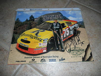 Rick Mast Signed Autographed 8x10 Promo Nascar Car Racing Photo Picture #1