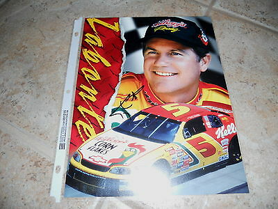 Terry Labonte Signed Autographed 8x10 Promo Nascar Car Racing Photo Picture