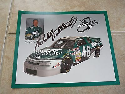 Wally Dallenbach Jr Signed Autographed 8x10 Promo Nascar Racing Photo Picture