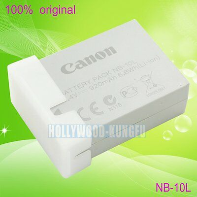 New Genuine Canon NB-10L Li-ion Battery for Canon PowerShot G1 X SX40 HS Camera