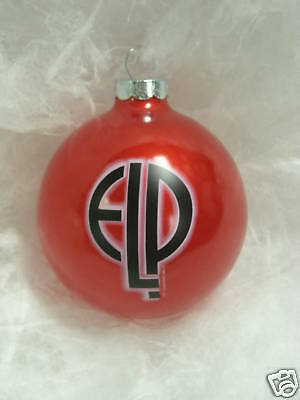 "Emerson Lake & Palmer Ornament ""NEW""  year 1997 Limited Edition Ornament ELP"