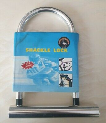 2 X Ultra Strong Security U-Lock-Motorcycle-166mmX320mm-TY310D-Garages-Gates