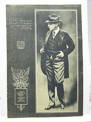 Nov 8,1917 NY TIMES Mid-Week Pictorial Magazine-Wilson on Cover/Shell Holes/WW1