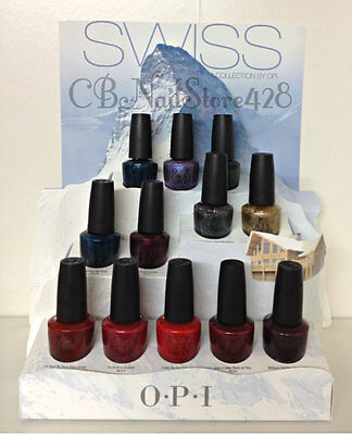OPI Nail Lacquer .5oz/15ml- SWISS Fall 2010 Collection - Choose Any Shade