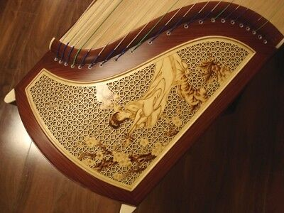 Tianyi Concert Rosewood Guzheng Musical Instrument