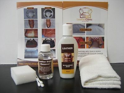Leather Ink & Stain Remover Kit + Leather Balm Mega Hit!!!