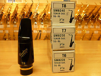 BEST SELLING VANDOREN V16 JAZZ TENOR sax  mouthpiece BRAND NEW, BOXED tip 6,7,8