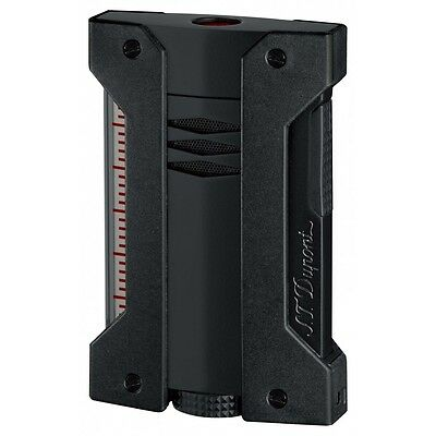 S.T. Dupont Defi Extreme Black Torch High Altitude Lighter, 21400, (021400), NIB