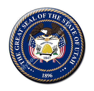 The Great Seal of Utah State Collectibles Fridge Magnet