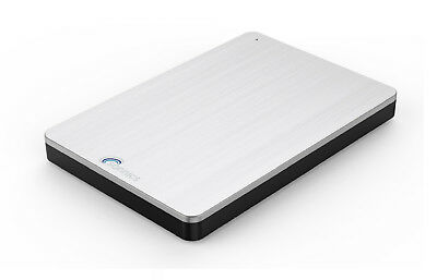 """Sonnics 320Gb External Hard Drive 2.5"""" For Use With Smart Tv's Silver Usb 3.0"""
