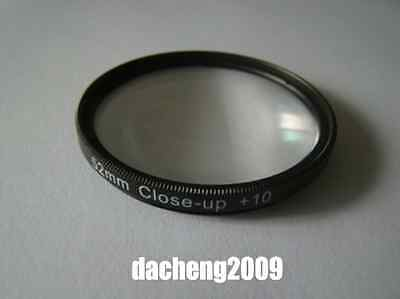 Macro Close Up Lens Filter 52mm +10 Close-up Filter For Canon Nikon Sony etc