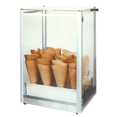 Gold Medal 8211 Waffle Cone Display Case