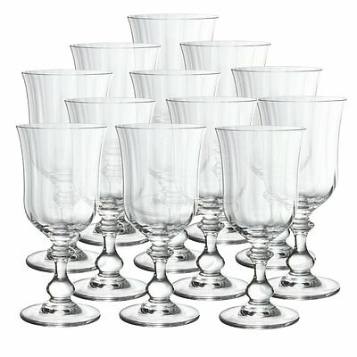 Mikasa French Countryside Crystal Goblets, Set of 12