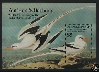 Antigua 1985 Birds John Audubon MS SG 928 MNH