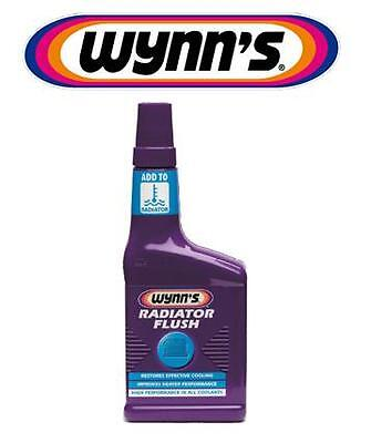 Wynns Car Radiator Rad Flush Cleaner Improve Heater Performance For All Coolant