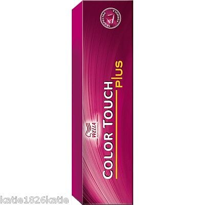 WELLA COLOR TOUCH PLUS HAIR COLOR 60ml TUBES