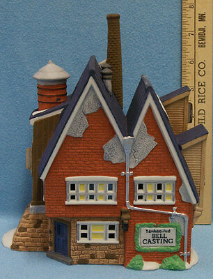 Department 56 Yankee Jud Bell Casting New England Village 5643-0 Christmas 1992