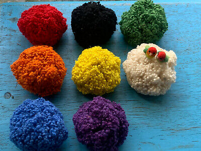 Heidifeathers® Mixed Wool Nepps - Large pack - slubs, burrs - felting, spinning