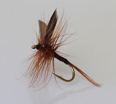12 x Dry Dad's Favourite TROUT FLIES for fly fishing rods, Reels & Lines