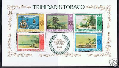 Trinidad & Tobago 1976 Paintings MS SG497 MNH