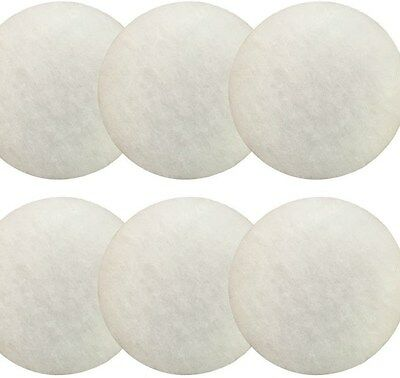 6 x Eheim Classic compatible 2215 fine white poly pads