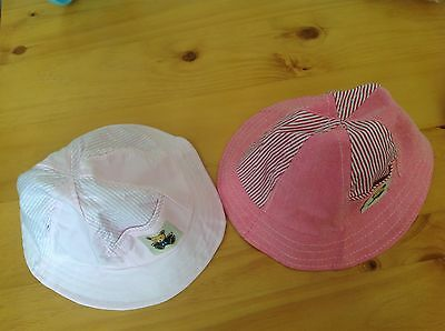 Clearance Sale Toddler baby girl bowler summer  sun hat 12-18 mths