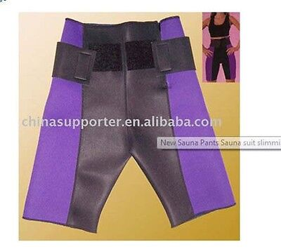 New Sauna Pants Sauna suit Neoprene slimming shorts For Sports Exercise