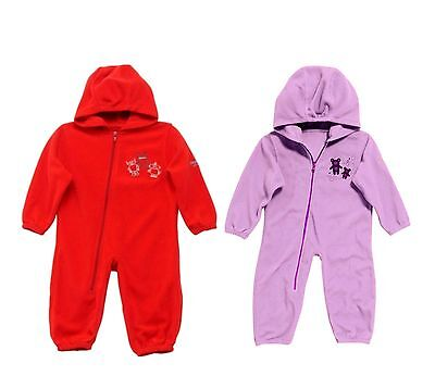 Rrp £15!! Regatta Fluffy Puddle  Childrens Warm/Cosy All In One Fleece Suit