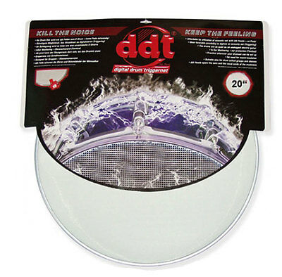 ddt Bass Drum Meshhead E-Drum Mesh Triggerhead Fell 20""