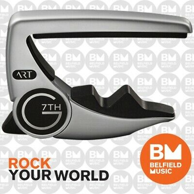 G7th G7 Performance 3 Guitar Capo for Steel 6-String Acoustic or Electric