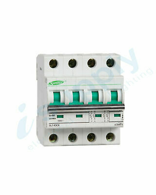 Circuit Breaker 20A 4 Pole – MCB DC1000V (Non polarised)