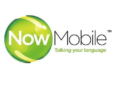 Now Mobile Sim Card -- official pack