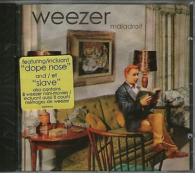 WEEZER-Maladroit-CD + Bonus video clips-BRAND NEW- Still Sealed
