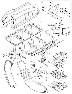 Sears Craftsman EZ3 38 Lawn Tractor Mower Deck Parts Rebuild Kit FREE further John Deere 42 Mower Deck Diagram likewise Model 917272242 Sears Craftsman 20 Hp Lawn Tractor Owners Manual On additionally Stens 285 544 CLUTCH SPRING FOR SNAPPER 1 2122 p 351163 moreover Craftsman 20hp DLT 3000 Lawn Tractor Bagger. on craftsman lawn mower parts on ebay
