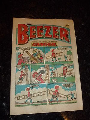 THE BEEZER Comic - ISSUE 1371 - Date 24/04/1982 - UK PAPER COMIC