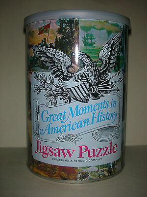 Vintage Humble Oil Great Moments in American History Jigsaw Puzzle - Coronado's