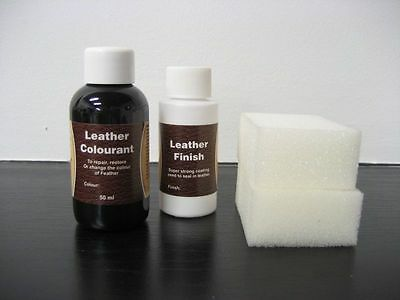 Leather Colourant Dye Pigment 50Ml + Leather Finish 25Ml Free  Easy To Apply
