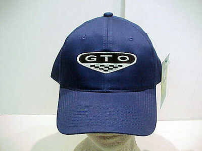 Pontiac Gto New Gen 04-06 Solid Color Hat By Gm