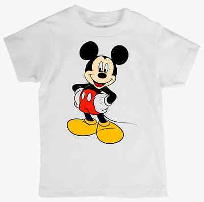 Children's Tee Shirt featuring MICKEY MOUSE quality cotton Kids T Shirt