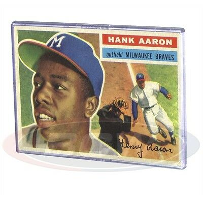 Vintage Large Trading Card Snap-Fit Card Holders x 10 pack
