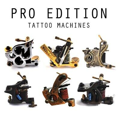 Pro Edition Liner/Shader Tattoo Machine/Gun-  Choose Design - UK Seller!!