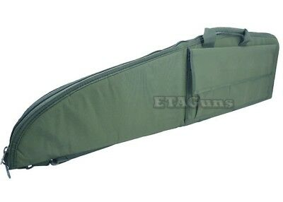"""NcSTAR 38"""" OD Green Police Hunting Tactical Rifle Gun Carrying Bag Case Pouch"""